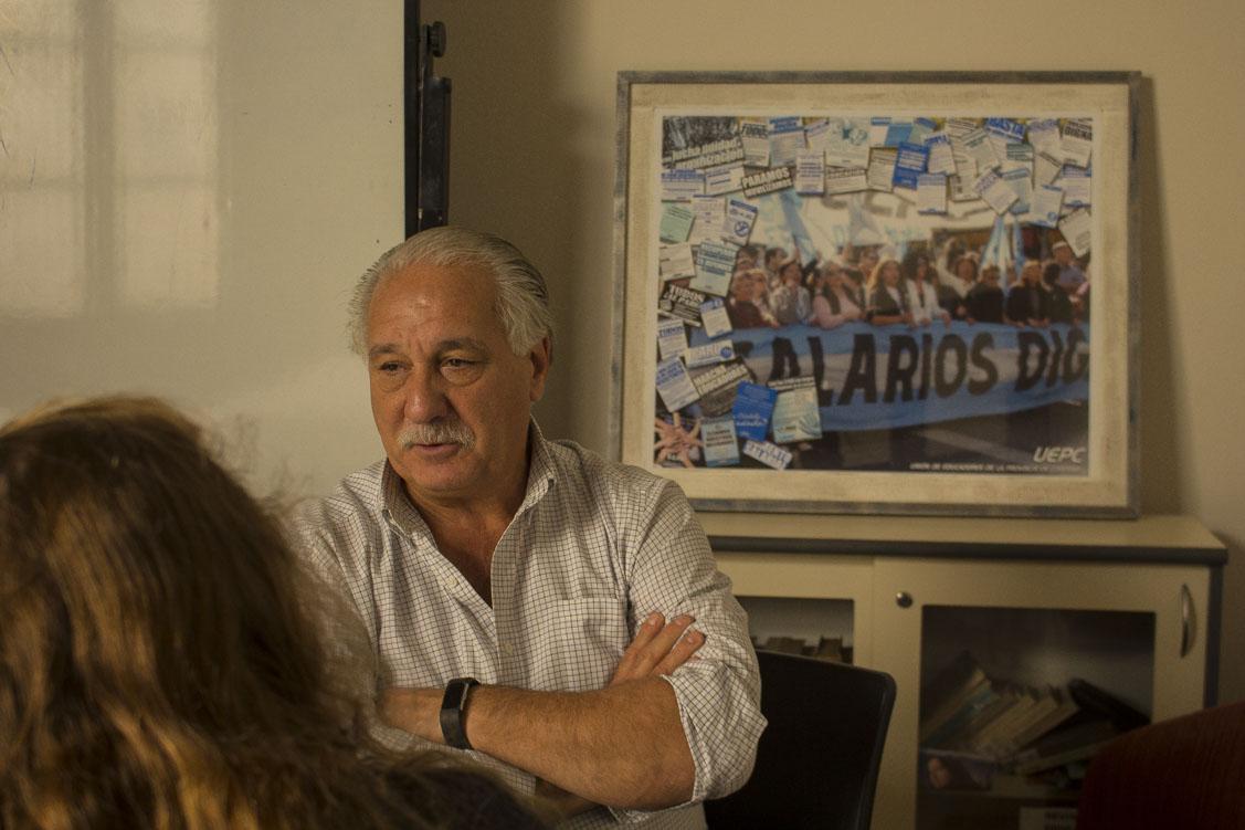 Foto para entrevista a Juan Monserrat - Micaela Cristalli